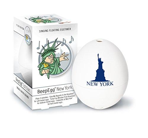 Brainstream PiepEi New York, Eieruhr zum mitkochen, Spielt 3 Melodien für 3 Härtegrade, A004527
