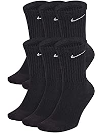 Nike U Nk Everyday Cush Crew 6pr-BD Calcetines, Hombre