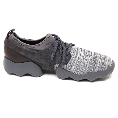 D4758 scarpa uomo CAMPER WITHOUT BOX nylon tissue shoe men Grigio
