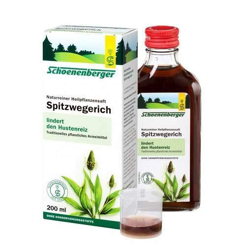 SPITZWEGERICHSAFT Schoenenberger 600 ml Saft