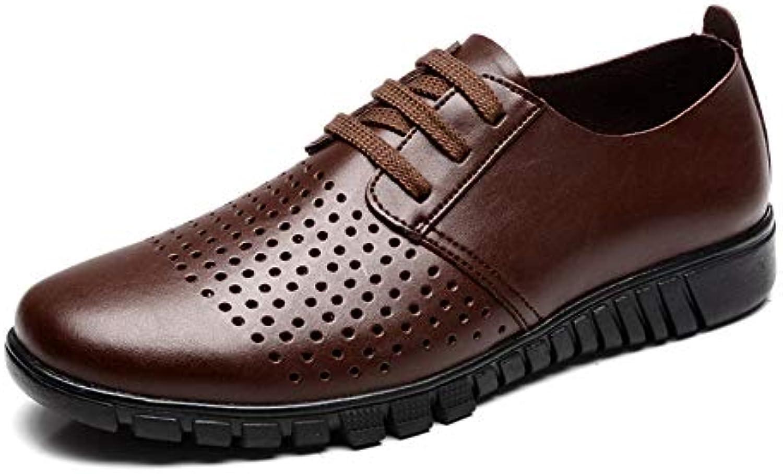SRY-scarpe, Scarpe Stringate Stringate Stringate Uomo, (Hollow Marronee), 40 EU   Di Progettazione Professionale  dd7b62