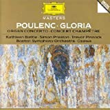 Gloria : for mixed chorus and orchestra ; Concerto in G minor for organ, strings and timpani ; Concert champêtre : for harpsichord and orchestra | Poulenc, Francis (1899-1963). Compositeur