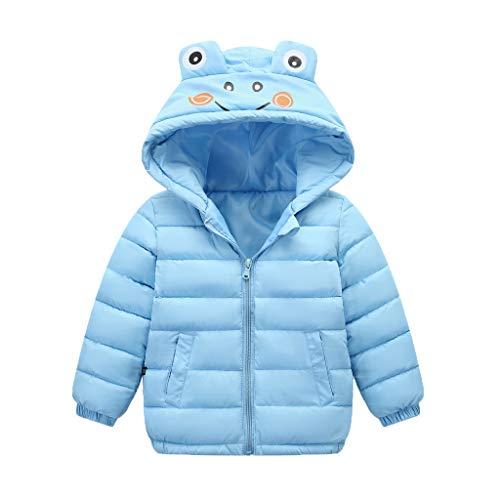 Mantel Kinder i-uend Kleinkind Jungen Mädchen Winter Kapuzenjacke Neugeborene Mädchen Warme Dicken Mantel Infant Cartoon Mit Kapuze Outwear Für 1-7 Jahre -