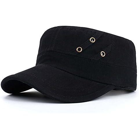 Cappello/Berretto piatto uomo/Berretto militare/Casual moda maschile Cap/Autumn shade cappello da