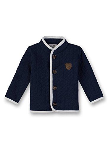 Sanetta Baby-Jungen Sweatjacke Jacket Blau (Deep Blue 5993.0) 68