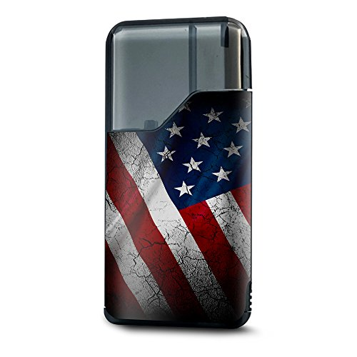 Usa Flag Kit (Skin Sticker für Suorin Air Kit Vape Skins Aufkleber Cover/American Flag Distressed)