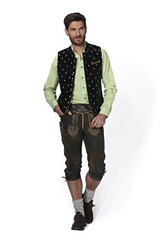 Stockerpoint - Herren Trachten Weste in verschiedenen Farbtönen, Calzado, Größe:60, Farbe:Tanne - 2