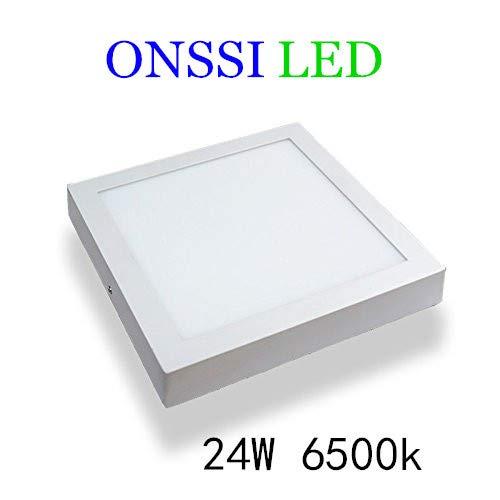 Plafón LED Cuadrado 24W Blanca Fria 6000k-6500k Superficie Alta Luminosidad ONSSI LED