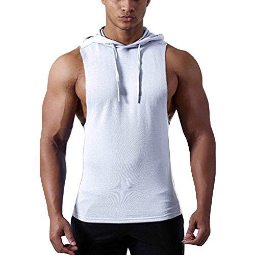 Muscle Shirt mit Aufdruck Achselshirt SMILODOX Tank Top Herren Trainingshirt Kurz Unterhemd Muskelshirt mit Logo f/ür Sport Gym Fitness /& Bodybuilding