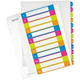 Leitz WOW A4+ Printable Dividers, 12 Part - Multicoloured