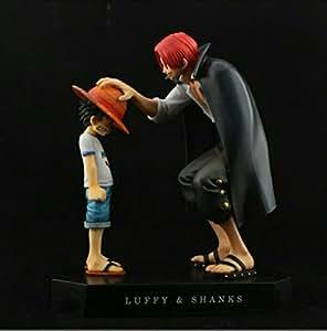 Banpresto - Figurine One Piece - Luffy et Shanks Dramatic Diorama 2 figurines 9 et 12cm - 3296580319930