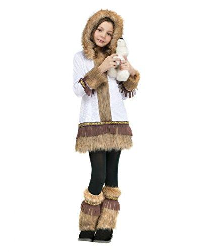 Eskimo Kinderkostüm für Mädchen am Faschingszug (Eskimo Baby Kostüm)