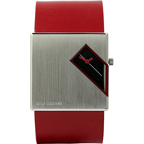 Rolf Cremer Straight Q 502206 Unisex Armbanduhr rot