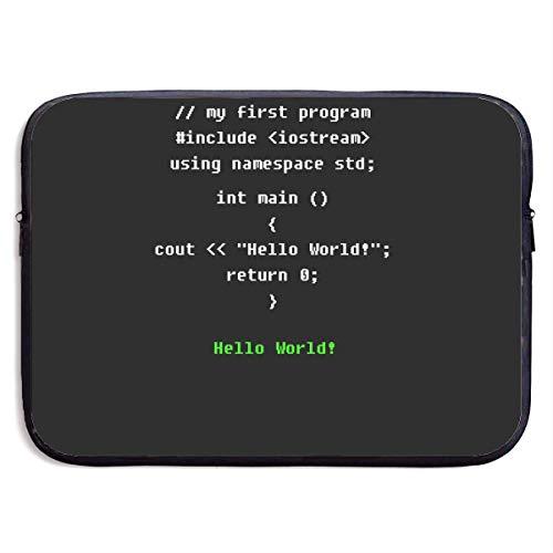 Benutzerdefinierte Laptop-Hülle 13/15 Zoll Ultrabook Reißverschluss Aktentasche Programmierung Print Portable Messenger Bag, 13 Zoll - Pratesi Laptop