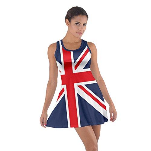 CowCow Women's British Flag Union Jack Comfy Cotton ...