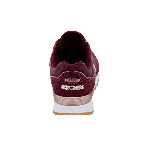Skechers Og 85 Ditzy Dancer, Chaussures De Sport Bordeaux Pour Femme