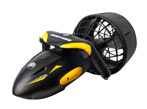 SeaDoo Tauchscooter Sea Doo GTS, black / yellow, 72 x 35 x 35 cm, SD25001DE