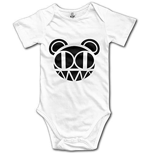 Radiohead Rock and Roll Rock Band Baby Onesie Baby Bodysuit 6M Rock Roll Baby Onesies