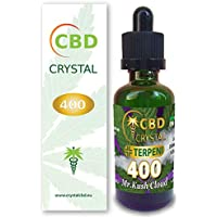 E-liquido CBD CRYSTAL400 Cloud 30ml 70vg/30gp - Liquido para Cigarrillo electronico. E-Liquid SIN NICOTINA. Sabor Sativa no Nicotine no Tobacco