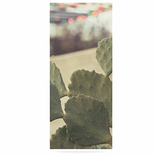 Kess eigene Ann Barnes Austin Sommer Party Grün Tan Luxe Rechteck Panel, 61x 91,4cm 61x 91,4cm