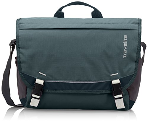 Travelite Borsa Messenger 6908-21 Blu 14 L Tannengrn