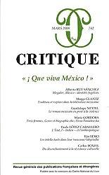 Critique, N° 742 :