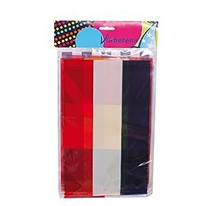 Verbetena - Bandera plástico internacional 20x30 cm, 10 m (011200113)