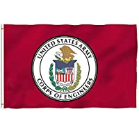 Oersted US Army Corps of Engineers Outdoor Banner Home Garden Flag Decorative Flags 3