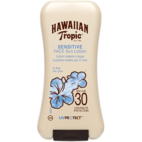 Hawaiian Tropic Sensitive Face Sun Lotion 30