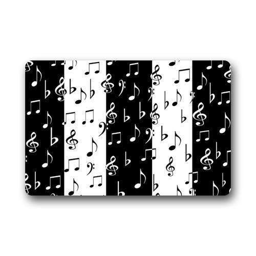 Eruerueruruer Fashionable Musical Notes Black and