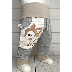 Baby Pumphose mit Tasche Gr.50-104 Hafenkitz Sweety handmade Puschel-Design
