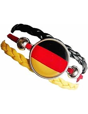 Armband mit Deutschland-Flagge