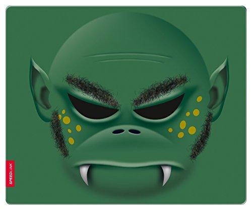 SPEEDLINK Silk Verde - Alfombrilla de ratón (Verde, Imagen, Universal, 230 mm, 190 mm, 1,5 mm)