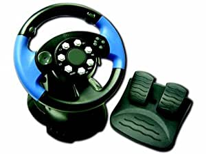 Tri Format Steering Wheel (PS2, Xbox, GameCube)