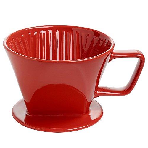 Maxwell & Williams IT51022 Kaffee Filter, Keramik, rot, 11.4 x 35.6 x 55.2 cm