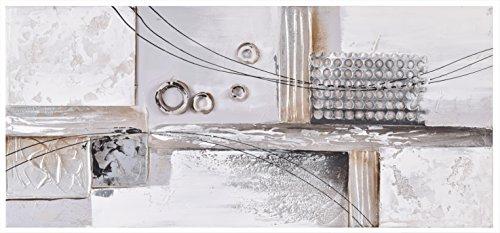 Lienzo abstracto pared collage. Lienzo grande pintado