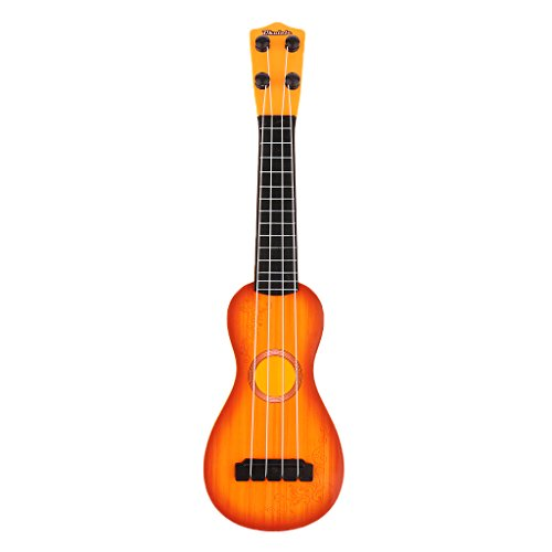 Instrumentos Musicales Juguetes Plásticos Mini Guitarra Forma Calabaza Niños Bebés - # 2