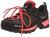 Salewa Damen WS MTN Trainer GTX Trekking-& Wanderhalbschuhe, Schwarz (Black Out/Rose Red 981), 38 EU