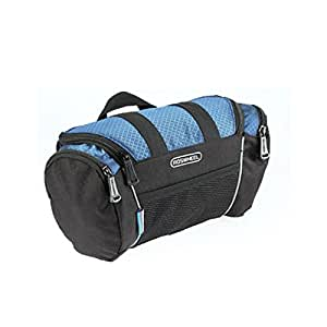 Roswheel Black Bike Bag Front Bicycle Handlebar Bag Top Tube Pannier Rack Basket (Blue&black)