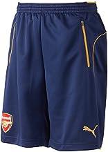 Puma AFC-Pantalones cortos para entrenamiento with 2Side Pockets Zip Inner Slip
