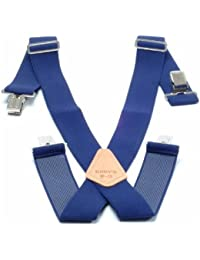 Kunys Hosenträger, 5cm breit, Marineblau, SP15