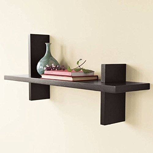 Brown Wooden Wall Shelves/ Wall Shelf For Home Décor  available at amazon for Rs.499