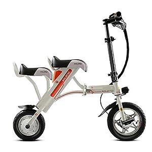 41H7adb5AAL. SS300  - TX Folding electric bicycle portable 36V battery 60 km 19kg mini sized urban use