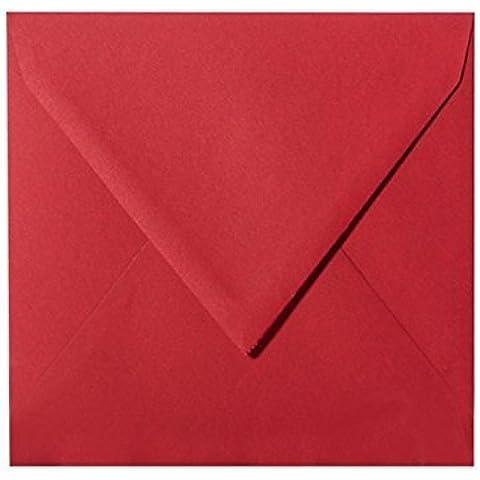 Karten und Co.–25(120g), colore: vino rosso, formato: