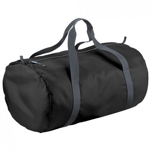 BagBase - Borsone impermeabile Packaway - 32 Litri Nero/Grafite
