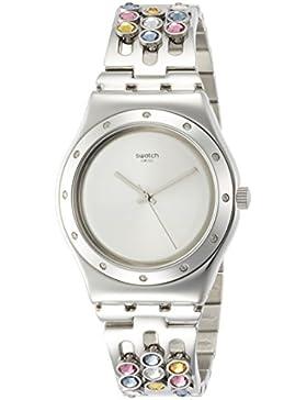 Swatch Damen-Armbanduhr YLS196G