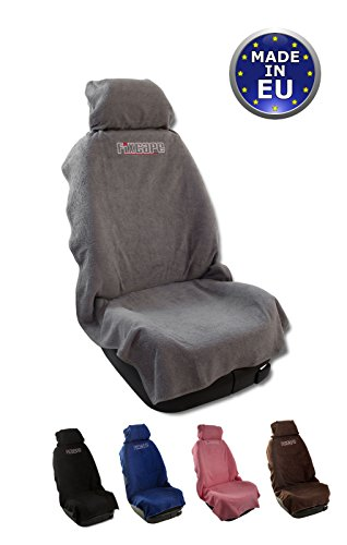 fixcape Cotone, Comodo coprisedile Singolo Universale Anteriore, Protezione per Sedile Auto, Lavabile Fodere Sedile Auto