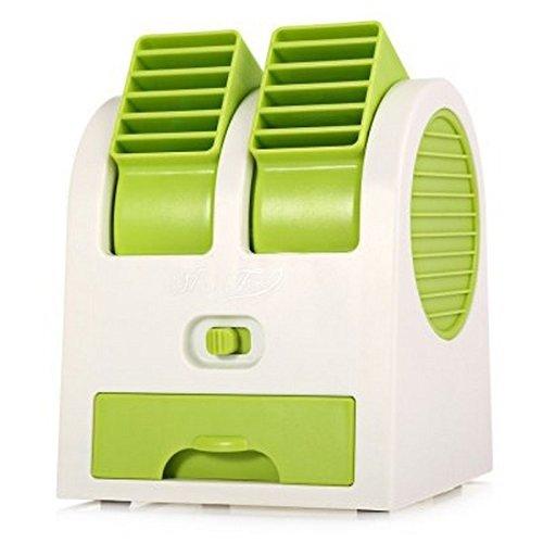 Pink Pari Mini Small Cooling Portable Desktop Dual Bladeless Fan