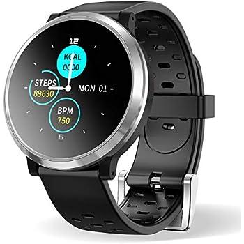 Smartwatch Reloj Inteligente, HopoFit HF04 Impermeable IP67 ...