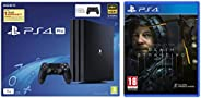 Sony PS4 Pro 1TB Console with one Additional Controller Pasted Outside Box & PS4 Death Stranding (